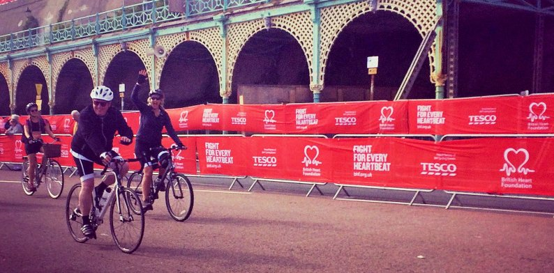 Locher Evers sponsors client - London to Brighton bike race